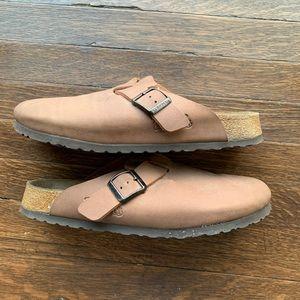 Birkenstock Brown Clogs